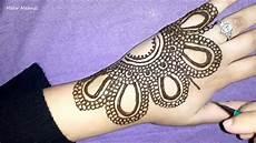 Pretty Henna Designs Pretty Arabic Henna How To Do Simple Mehendi Design