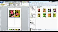 Photo Templates For Word Drag And Drop Photos Or Images Into Word Document Youtube