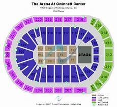 Arena At Gwinnett Center Seating Chart The Arena At Gwinnett Center