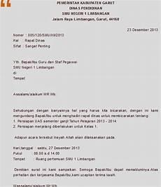 contoh surat undangan resmi contoh surat untuk lamaran