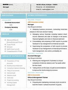 Resume Format Accountant 23 Accounting Resume Templates Pdf Doc Free