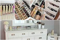 makeup collection organization storage vanity tour