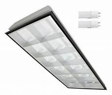 2x4 Led Lights 2x4 Led Parabolic Troffer Light Fixture 12 Cell With 2 Led