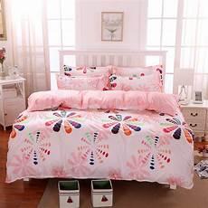 home textile seven colors flower 3 4pcs bedding sets