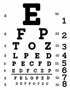 Printable Snellen Eye Chart For Kids Quot Snellen Eye Chart Quot Posters By Allhistory Redbubble