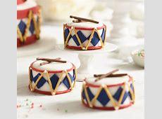 Nutcracker Mini Drum Cakes   Lakeland Blog