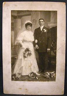 wedding 1900 portrait black white contemporary image