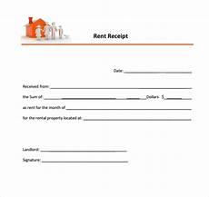rent receipt template free 8 rent receipt templates in docs