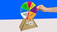 Diy Prize Wheel How To Make A Prize Wheel From Cardboard Youtube