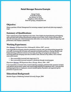 How To Write A Resume For Retail Crafting A Great Assistant Store Manager Resume