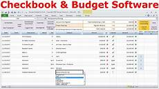 Checkbook Register Software Personal Finance Software Budget Spreadsheet And