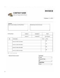 Roofing Invoice Free Roofing Invoice Template