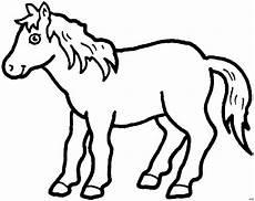 niedliches pferd ausmalbild malvorlage tiere