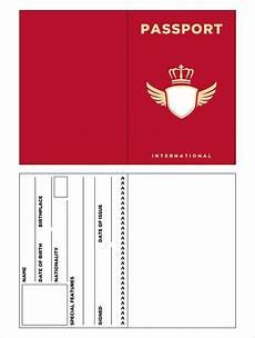 Passport Template Download 10 Passport Templates Free Word Pdf Documents Download