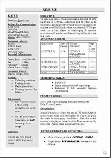 Resume Complete Format Complete Resume Sample Free Download 1