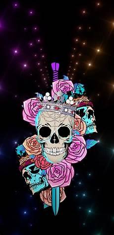 floral skull iphone wallpaper pin by diane king on girly skulls skull wallpaper
