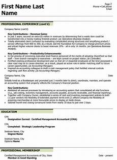 Chief Financial Officer Resumes Chief Financial Officer Resume Sample Amp Template