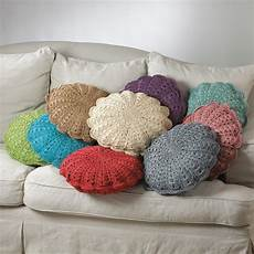 crochet pillow west palm crochet decorative throw pillow 18 quot 9