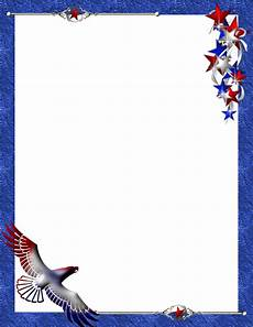 Patriotic Template Patriotic Stationery Themes Page 1
