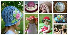 20 crochet hat free patterns for