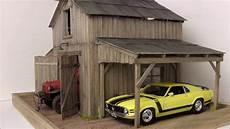 1 24 1 25 barn garage diorama for sale on ebay youtube
