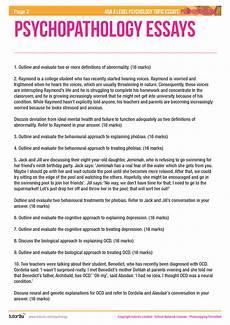 Writing A Psychology Essay Positive Psychology Essay Positive Psychology Term