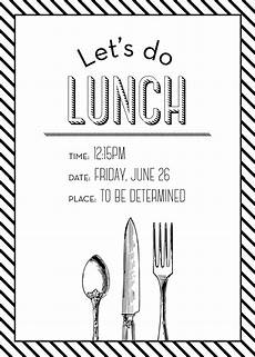 Lunch Invitation Message Simple But Elegant Lunch Invitation Lunch Invitation