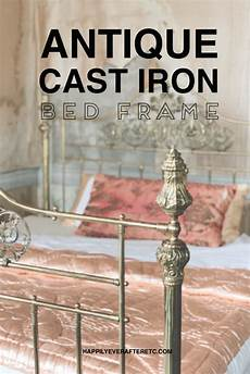 how to turn your antique bed into a cast