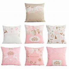 45cmx45cm pink pillowcase merry decorative