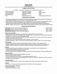 Results Oriented Resume S Roth Resume