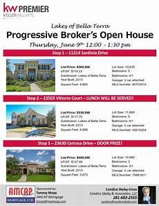 Broker Open House Flyer Progressive Broker S Open House