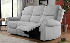 Gray Reclining Sectional Sofa 3d Image by Hadlow Dove Grey Plush Fabric 3 Seater Recliner Sofa