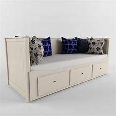 Sofa With Storage Space 3d Image by 3d Sofa Bed Ikea Hemnes 3d Model Ikea Bed Ikea Hemnes