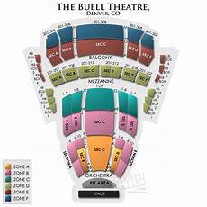 Temple Buell Seating Chart Buell Theatre Seating A Guide For Live Shows At The