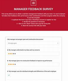 Manager Feedback How To Create A Manager Performance Review Rowshare
