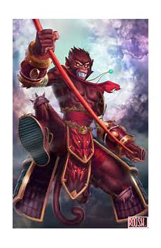 Malvorlagen Lol Wukong Wukong League Of Legends By Rooshie On Newgrounds