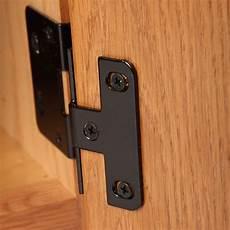 flush cabinet hinges black bruin