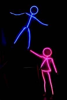 Diy Stickman Light Costume Led Stick Figure Diy Halloween Costume Inspiredled Blog