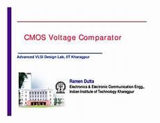 Cmos Comparator Design Project Pdf Cmos Voltage Comparator Cmos Voltage Comparator Cmos