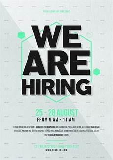 Now Hiring Template Flyer Free 28 Beautiful Job Fair Flyer Templates In Psd