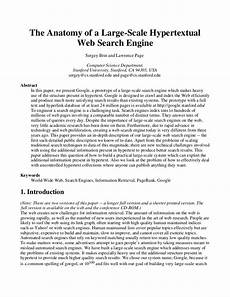 Examples Of A Research Essay Google Research Paper