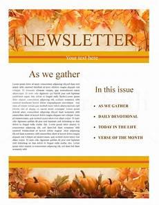 Thanksgiving Newsletter Template Free Thanksgiving Church Newsletter Template Newsletter Templates