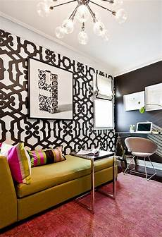 Bold Wallpaper Designs 25 Inspirations Showcasing Home Office Trends