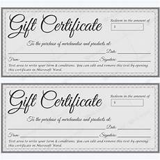 Ms Word Gift Certificate Template Gift Certificate 38 Word Layouts