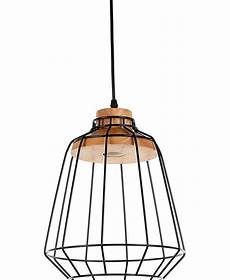Industrial Pendant Light Philippines Wooden Pendant Light Metal Wire Frame Cage Led Pendant