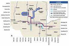 Light Rail Map Phoenix Tempe Signs Of Light Rail Expansion Coming To North Phoenix