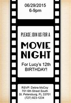 Movie Themed Invitation Template Free Free Quot You Re Invited Quot Movie Ticket Invitation Template