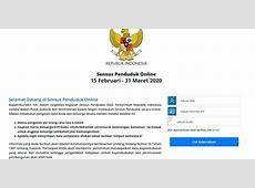 Panduan Lengkap Tahap Mengisi Sensus Penduduk Online 2020