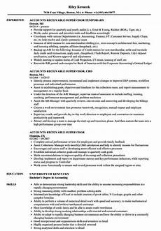 Accounts Receivable Resume Account Receivable Resume Samples