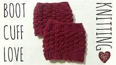 boot cuff easy knit pattern knitting
